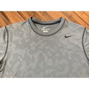 Nike Shirts - Nike Men's Dri-Fit Grey T Shirt size Medium